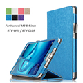 Flip Folding Stand Leather PU Protective Case Skin for Huawei MediaPad M3 8.4 inch BTV-W09/BTV-DL09 Tablet Case Cover Accessory