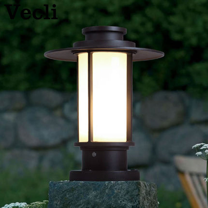Outdoor pillar lamp grass lighting waterproof and rustproof wall buitenlamp E27 door lighting fixturesOutdoor pillar lamp grass lighting waterproof and rustproof wall buitenlamp E27 door lighting fixtures