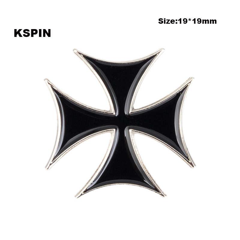Trojan Helm Logam Lencana untuk Ransel Pin Bros Set Dekoratif Tombol untuk Pakaian XY0068