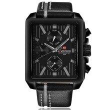 hot deal buy naviforce mens watches top brand luxury men quartz watch men leather business waterproof sport watches relogio masculino 2017