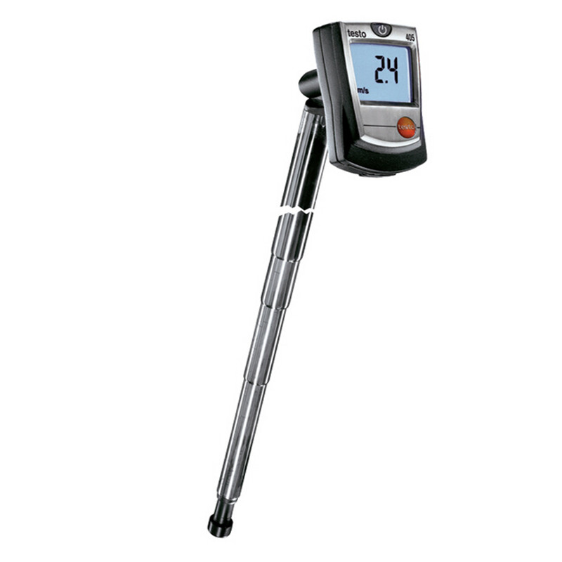 Testo 405 V1 тепловой анемометр с воздуховод держатель воздуха/Ветер поток объем скорость температура метр тестер, 0560 4053