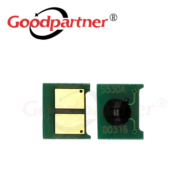 US $3 5 |5PC Toner Cartridge Chip Reset Chip for HP 304A CC530A CC531A  CC532A CC533A CM2320 CP2020 CP2025 -in Cartridge Chip from Computer &  Office on