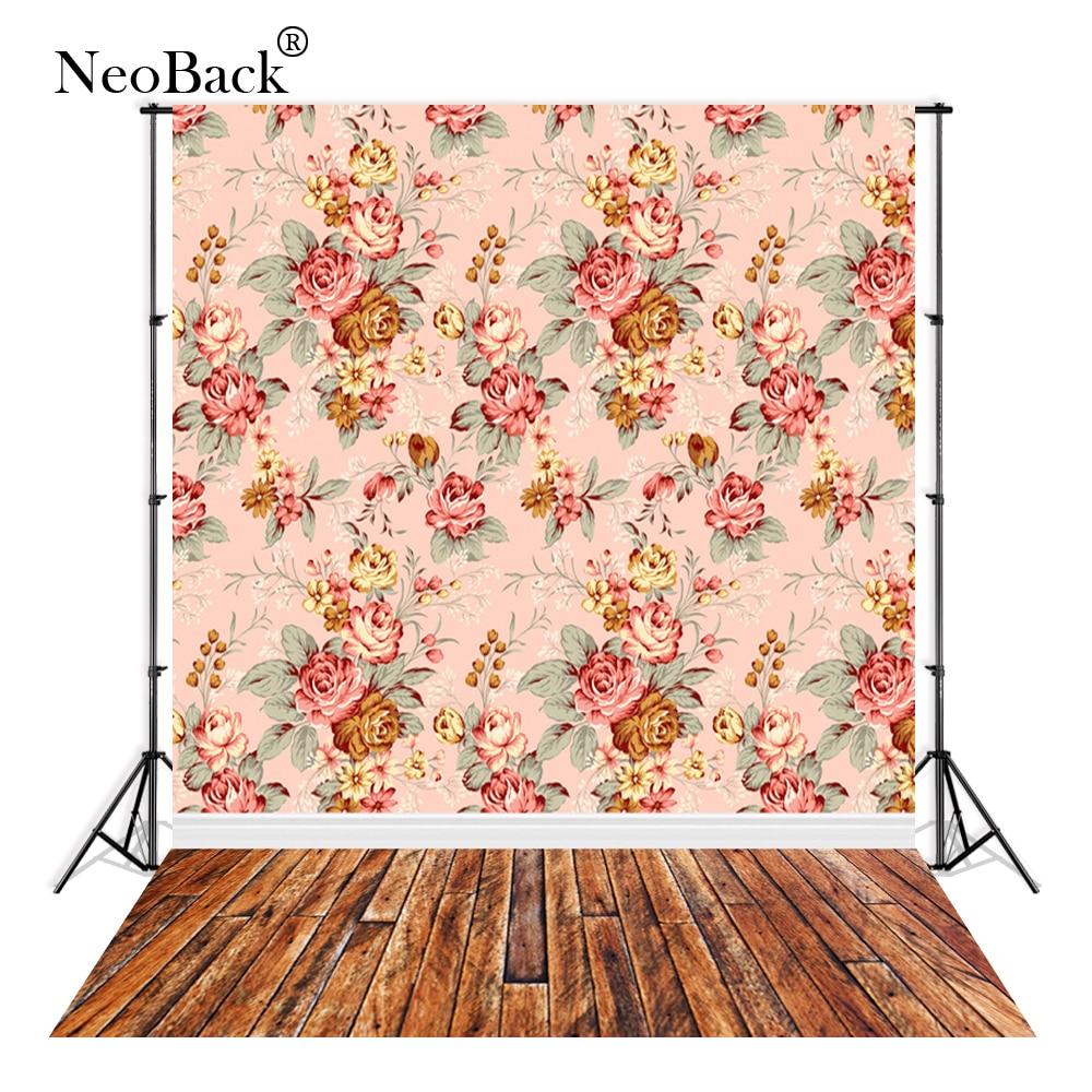 NeoBack Thin vinyl cloth New Born Baby Photography Backdrop children kids backdrops Printing Studio Photo backgrounds P1840 daikin ftxb50c rxb50c