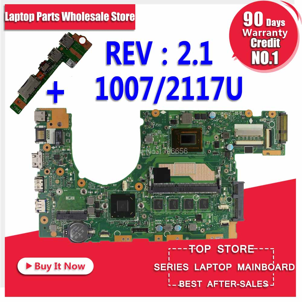 все цены на Send board+S400CA Motherboard 1007U/2117U For ASUS S500C S400CA S500CA laptop Motherboard S400CA Mainboard S400CA Motherboard онлайн