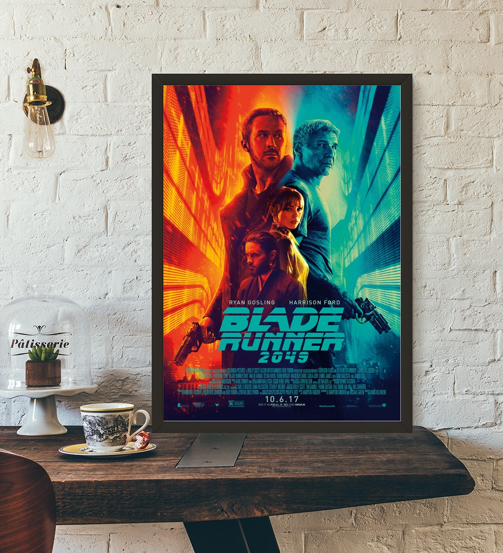 Blade Runner 2049 Vintage Movie Wall Art Wall Decor Silk Prints Art Poster Paintings For Living Room No Frame huawei mate x dobravel