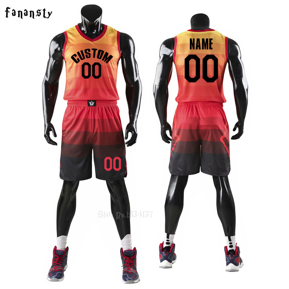be96bd9514a Custom Usa Basketball Jersey Sets Uniforms Kits Sports Clothing ...