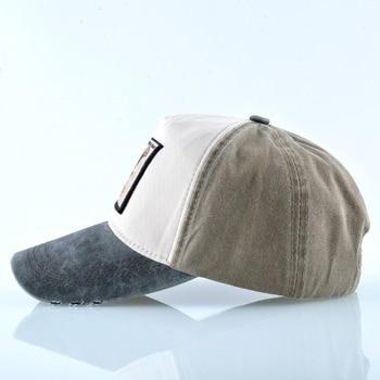 Embroidery Eagle Baseball Caps Men Spring Autumn Cotton Dad Hat For Women Fashion Washed Denim Casquette Snapback Hip Hop Bone 2