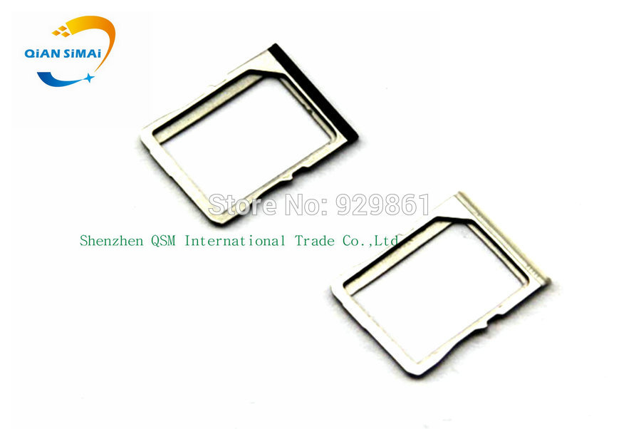 QiAN SiMAi 1PCS New SIM card Holder Slot Tray Socket Reader Replacement for HTC one M7 801e/S/N Phone Black, White