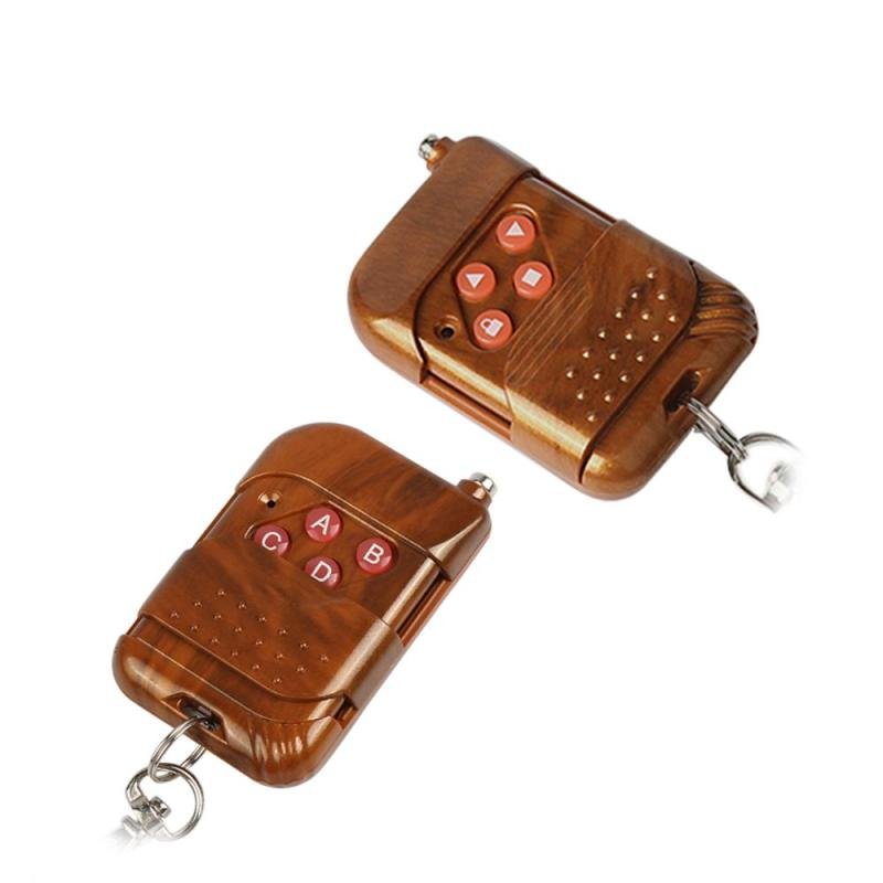QIACHIP 433Mhz RF Wireless Remote Control Light touch Switch 4 CH DC 12V Transmitter Learning Code 1527 Remote Control Key Fob