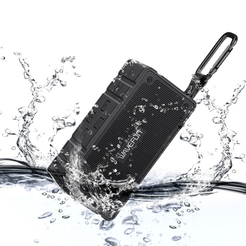 Wavefun Cuboid Bluetooth Speaker Outdoor Bicycle IP65 Waterproof Mic Mini Portable Bluetooth Wireless Speaker for xiaomi Phone