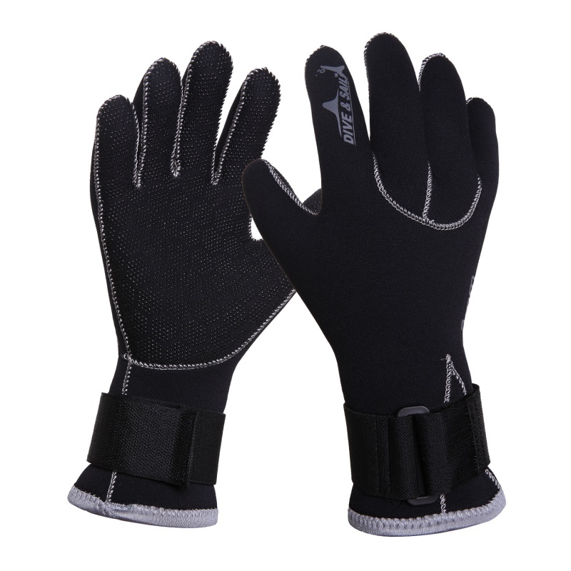 Swim Gloves 3MM Neoprene Scuba Dive Gloves Anti Scratch Keep Warm Wetsuit Snorkeling Equipment Winter Swim Spearfishing