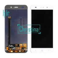 Black HH LCD+TP For ZTE Blade X7 D6 V6 Z7 T660 T663 LCD Display with Touch Screen Digitizer Smartphone Replacement 1pcs+tools