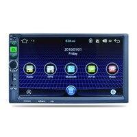 7 Android 5.1.1 Автомобиль Радио Одноместный 1 Din 1024*600 gps навигации Wi Fi Bluetooth 4 ядра головное устройство автомобиля мультимедийный плеер Лидер прода