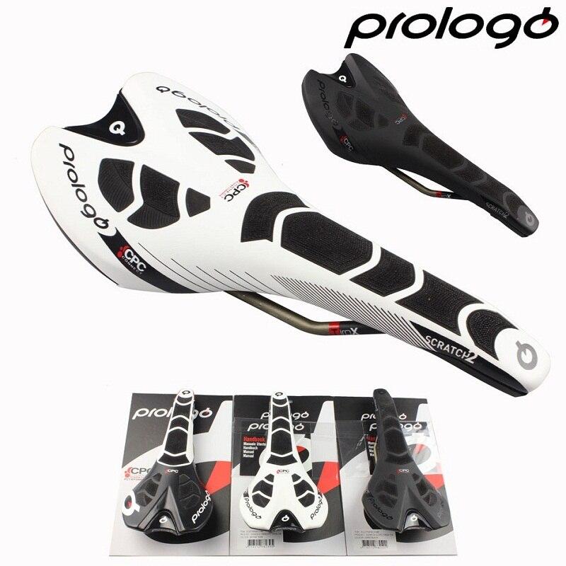 Prologo Оригинальный Новый CPC SCRATCH II TiroX RAIL Road Bike Saddle Cycling Carbonfibre Bicycle Бесплатная доставка