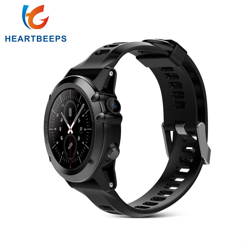 Heartbeeps H1 Smart Watch IP68 Waterproof 1.39inch 400*400 GPS Wifi 3G Heart Rate Monitor 4GB+512MB For Android IOS, Camera 500W smartch h1 smart watch ip68 waterproof 1 39inch 400 400 gps wifi 3g heart rate 4gb 512mb smartwatch for android ios camera 500