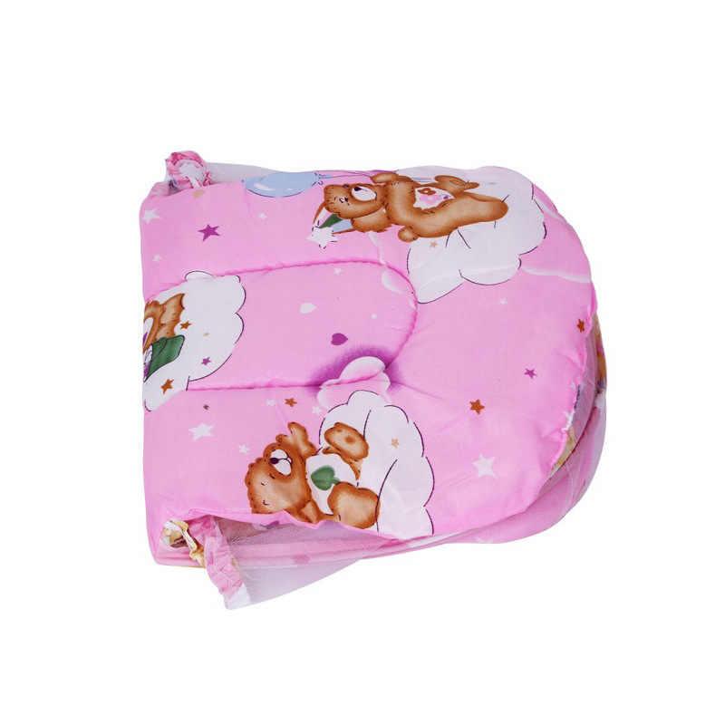Bayi Kelambu Baby Bedding Crib Tenda Kelambu Perjalanan Tempat Tidur dengan Bantal Kasur Anak Tempat Tidur Anak Bayi Tenda Cot Net portable