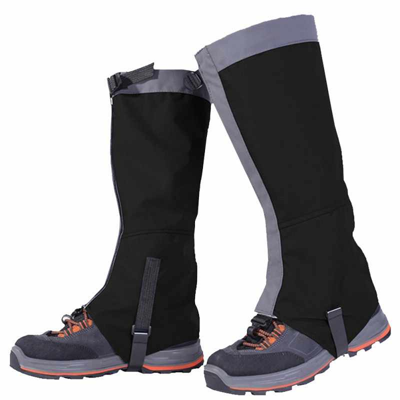 Sport Waterproof Cycling Leg cover Snow Skiing Hiking Climbing Leg Protection Guard  Safety Leg Warmers Shoes cover