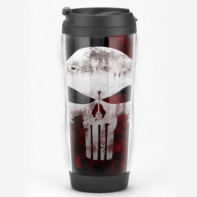 limited edition the punisher comics collectiable travel mug gift