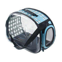 Transparent Cat Dog Carrier Bag Space Capsule Foldable Breathable Pet Travel Bag Outdoor Backpack Puppy Travel Carrying Handbag