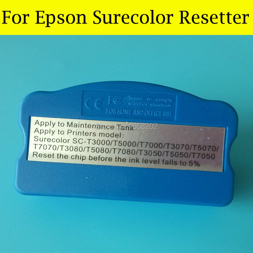 1 PC Surecolor Maintenance Tank Chip Resetter For Epson T5050 T3080 T5080 T7080 Waste ink tank