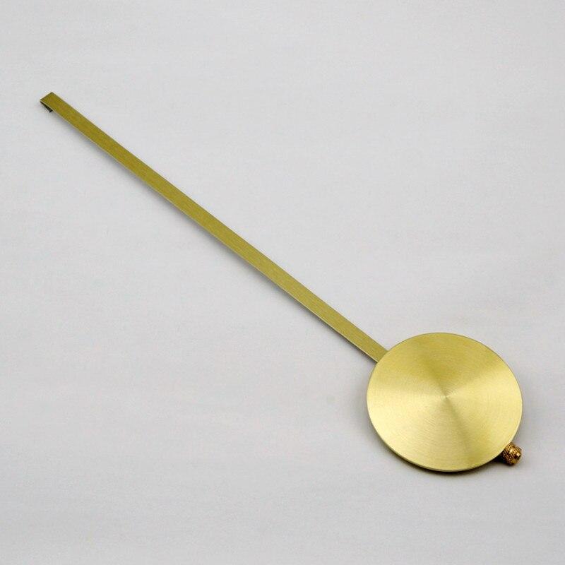 25 sztuk długi metalowy zegar wahadło Bob złoto i srebro DIY zegar dziadka zestawy naprawczy w Części i akcesoria do zegarów od Dom i ogród na  Grupa 1
