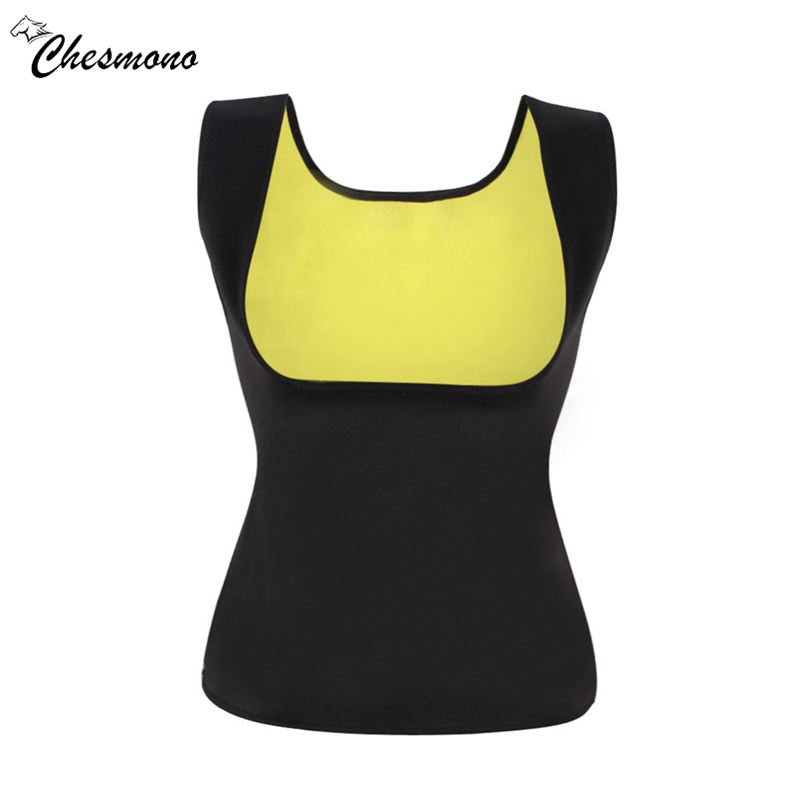 Biger Size Good Quality Neoprene fitness body girly stretch yuga shapers exercise vest Hot Slimming Shaper Top