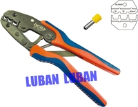 DR 2550GF Crimping Plier Ratchet Crimping Tool Insulated Non Insulated Terminal Crimping Plier 25MM2 35MM2 50MM2
