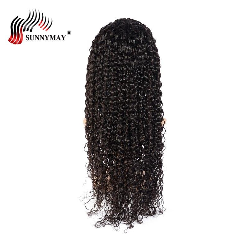 Sunnymay Spanish Wave Full Lace Mänskliga Hårparykar Pre Plucked - Mänskligt hår (svart) - Foto 5