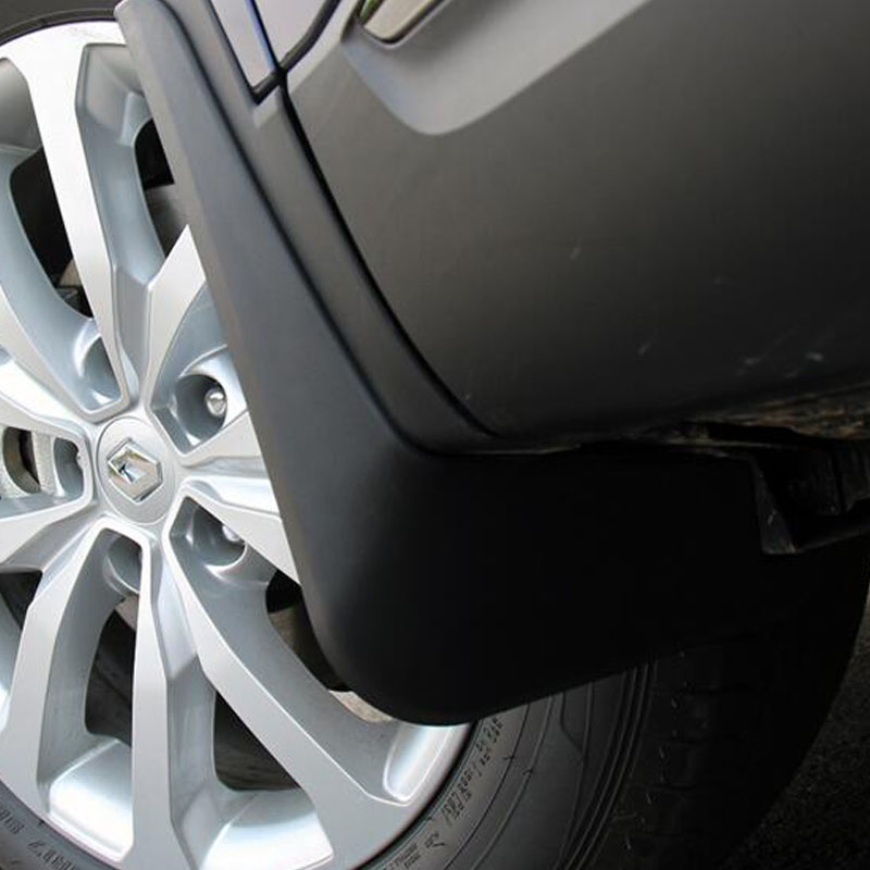 4PCS Car Accessories Plastics material Mud Flaps Splash Guards fenders mudguard For Renault Kadjar 2017 2018 все цены