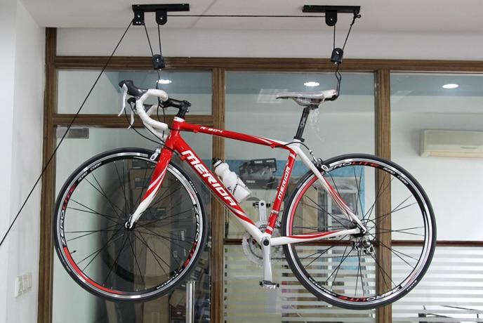 Bicycle Wall Hook Lift Hoist Ceiling Mount Bike Storage