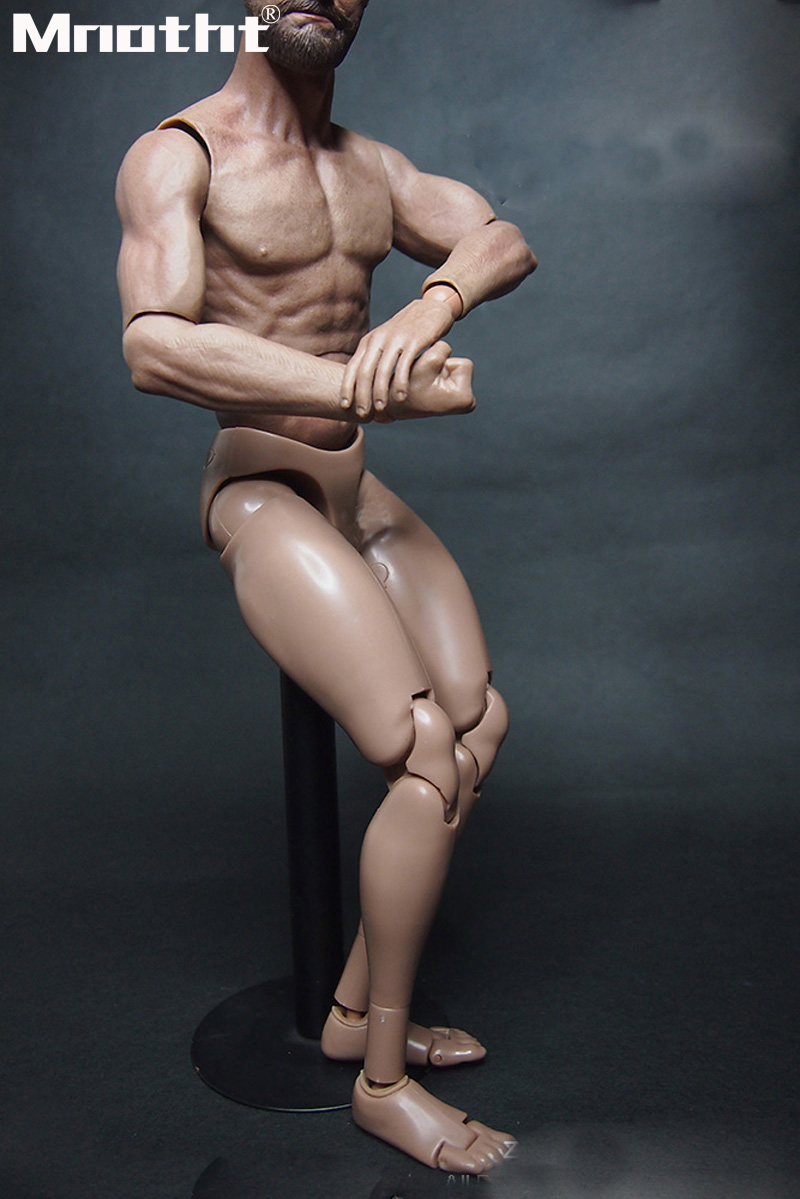 "1//6 Male Muscular Action Figure Emulated Body MX02-A For 12/"" Man Figure"