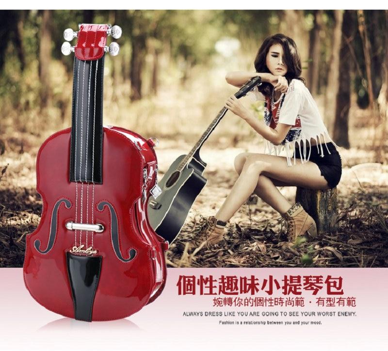 ФОТО 2017 Hot Sale Unisex Three Casual Zipper Hard Tassel Solid Pu New Handbags Xiekua Package Bag Violin Personality Fringed Hand