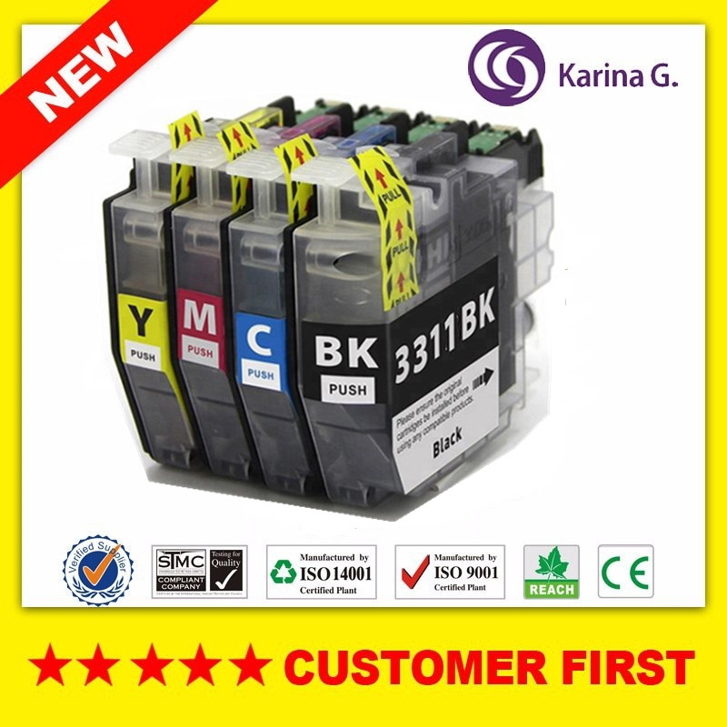 Compatible for Brother LC3311 ink Cartridge suit  DCP J772DW MFC J491DW MFC J890DW etc.|Ink Cartridges| |  - title=