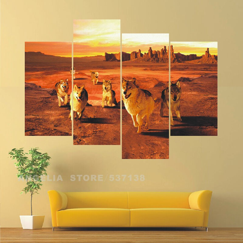 Multi Panel Canvas Wall Art compare prices on multi panel canvas wall art- online shopping/buy