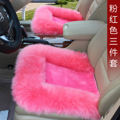 automotive wool cushion car seat covers winter warm sale for Cadillac CTS CT6 SRX DeVille Escalade SLS ATS-L/XTS MG3/5/6/7 MG-GT