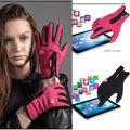 Мужчины Женщины Мотоцикл Перчатки Зимние Виды Спорта Ветрозащитный Дышащий Сенсорный Экран Мужская Открытый Тактические Перчатки Розовый/Черный