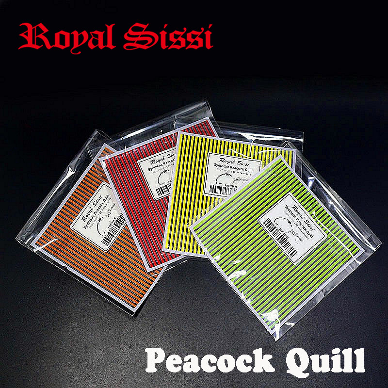 New 4sheets/lot fly tying synthetic peacock quill fly tying materials synthetic quill body wrap 30herls per sheet nymph bug bond 5sheets pack 10cm x 5cm holographic adhesive film fly tying laser rainbow materials sticker film flash tape for fly lure fishing