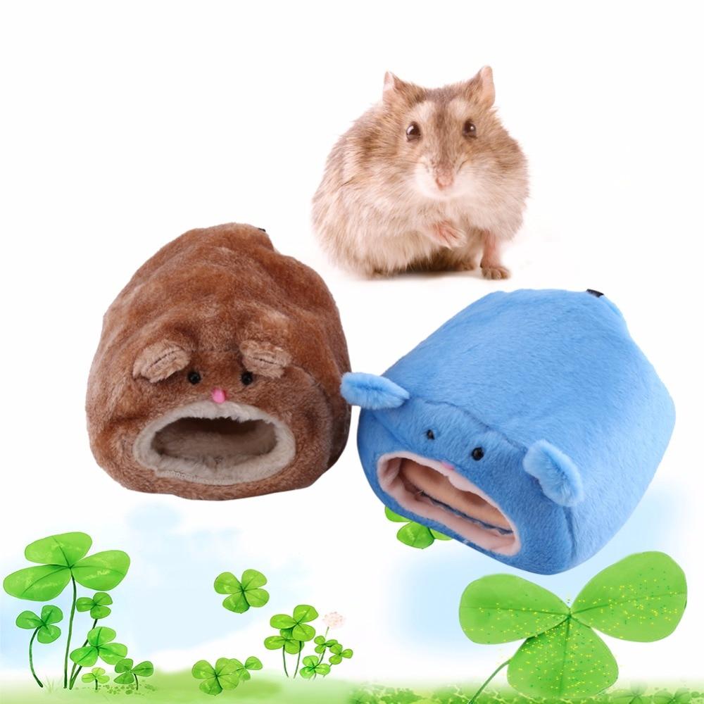 Ambitieus Leuke Kleine Dieren Huisdier Bed Nest Zachte Warme Hamster Rat Eekhoorn Cavia Huis Kooi Accessoires Little Dier Opknoping Bed 2017 Hot