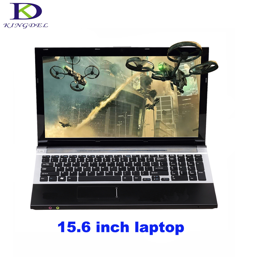 Classic Style Netbook Computer I7 3537U Windows 7 Intel HD Graphics 4000 Laptop With HDMI VGA DVD-ROM 8G RAM 256G SSD 2.0GHz HDD
