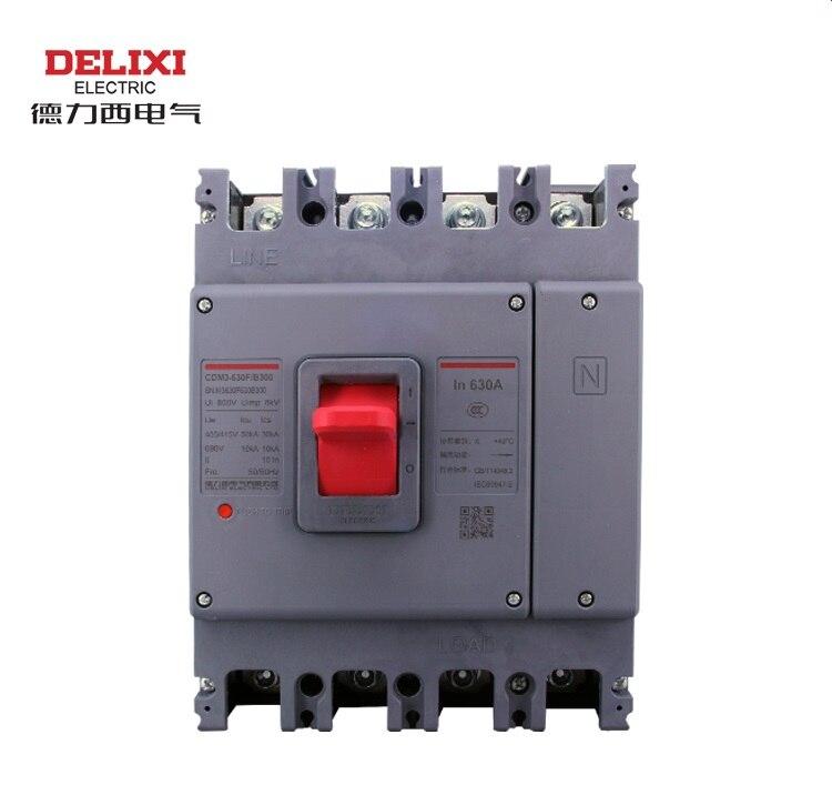 DELIXI CDM1/CDM3 4 P 315A 400A 500A 630A Air commutateur, disjoncteur