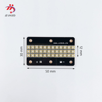 90W LED UV Module for Ultraviolet gel ink curing light APEX SunJet UV flatbed printer cure quartz 365nm 3535 chip UV Lamp bead