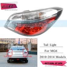 ZUK высокое качество левый и правый задний фонарь заднего фонаря в сборе для MG 6 2010 2011 2012 2013 задняя сигнальная лампочка с лампой