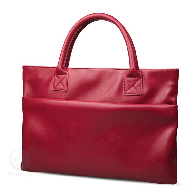 New style Senior leather Laptop Bags for apple Laptop macbook 13 air bladder bag MAC pro women's Laptop bag lady Cases