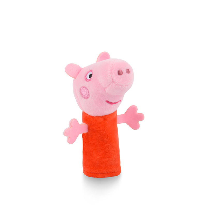 Genuine Peppa Pig Finger Puppets Plush Baby Toy children's Finger Puppets Educational Story Hand Puppet stuffed doll kids toy 37