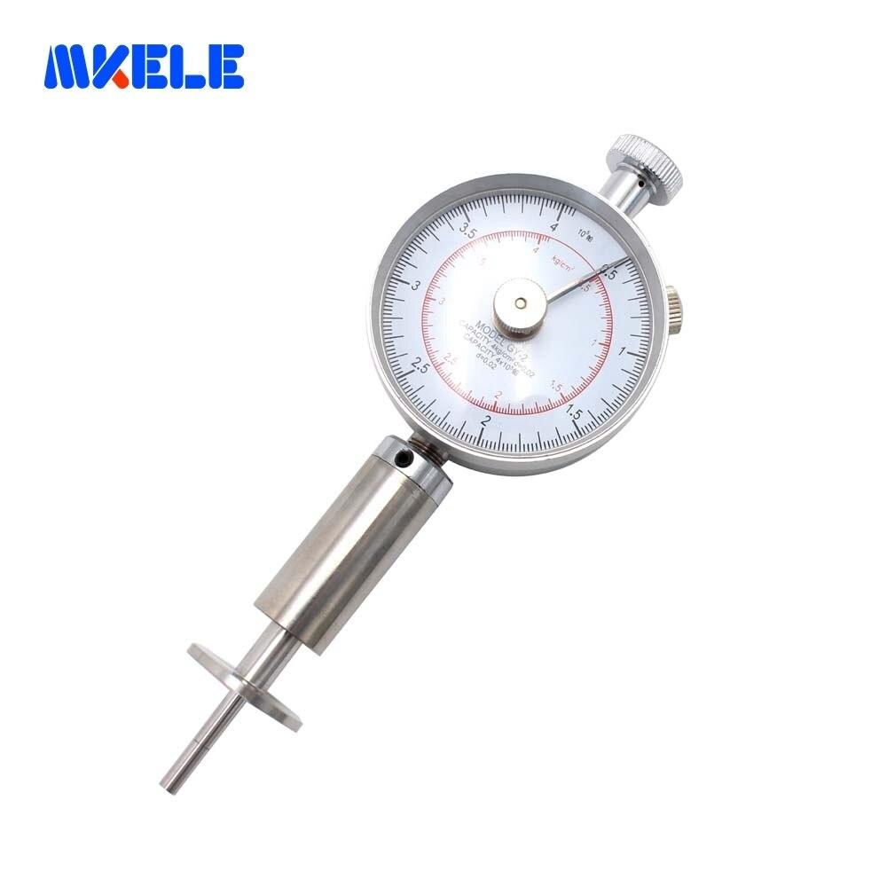 Portable Hardness Tester Fruit Hardness Tester Sclerometer Meter Gauge GY 2 Fruit Sclerometer Fruit Penetrometer Makerele