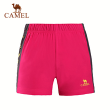 Camel Outdoor Women Function Shorts Breathable Comfortable Women's Sports Shorts