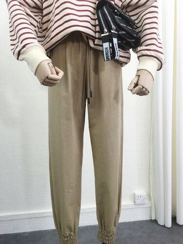 Soldi F delle Persone Harajuku Pantaloni, I Bambini di Autunno Dell'edizione Del Han, Tute e Salopette, Pantaloni Larghi, pantaloni sottili, Pantaloni.