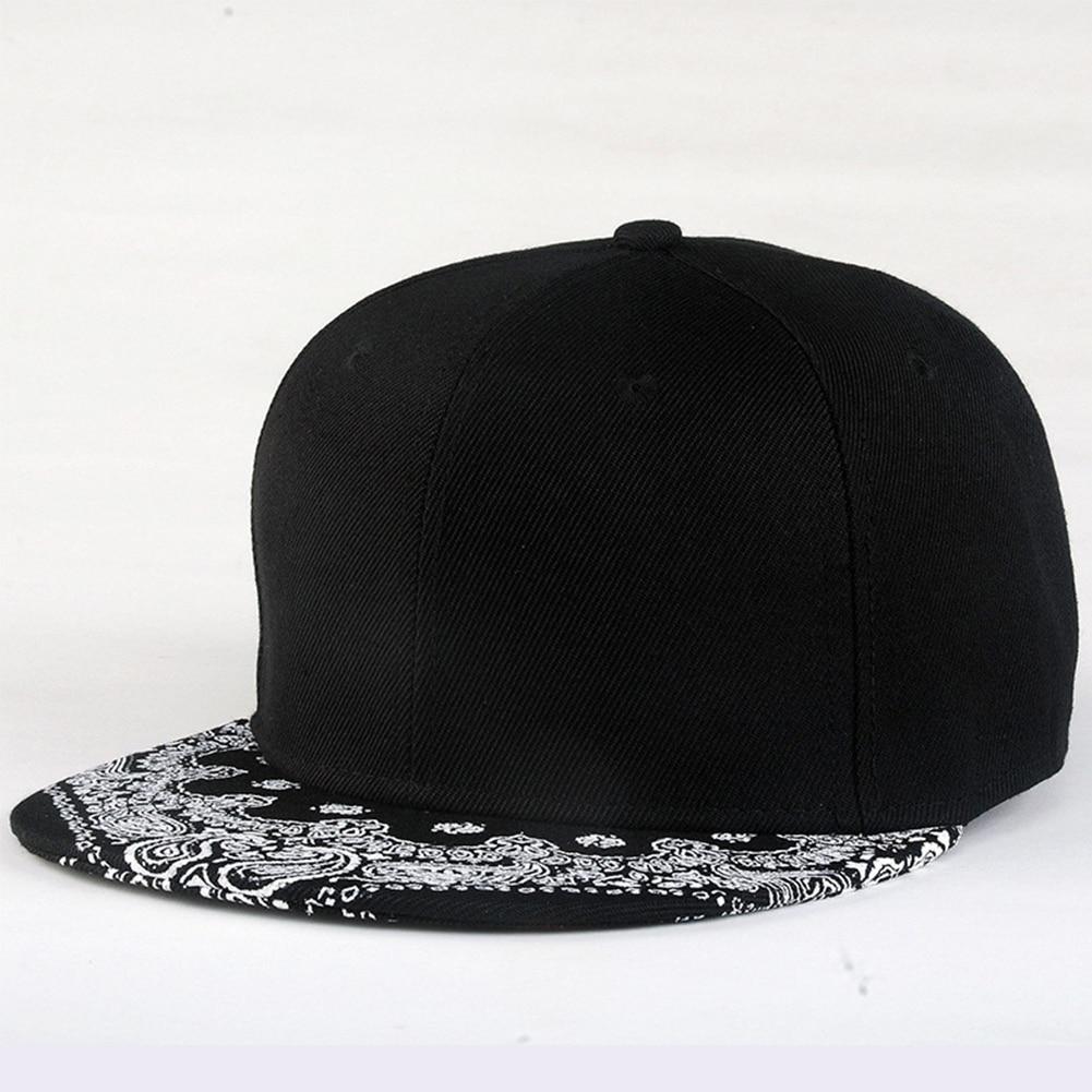 Newest Unisex Women/ Men   Baseball     Cap   Hat Print Paisley Adult Snapback Hiphop Hat Adjustable   Baseball     Cap   #20