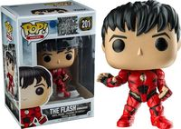 Exclusive FUNKO POP Official DC Heroes Justice League The Flash Unmasked #201 Vinyl Action Figure Collectible Model Toy