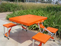 Outdoor Folding portable camping dining table Beach Tables